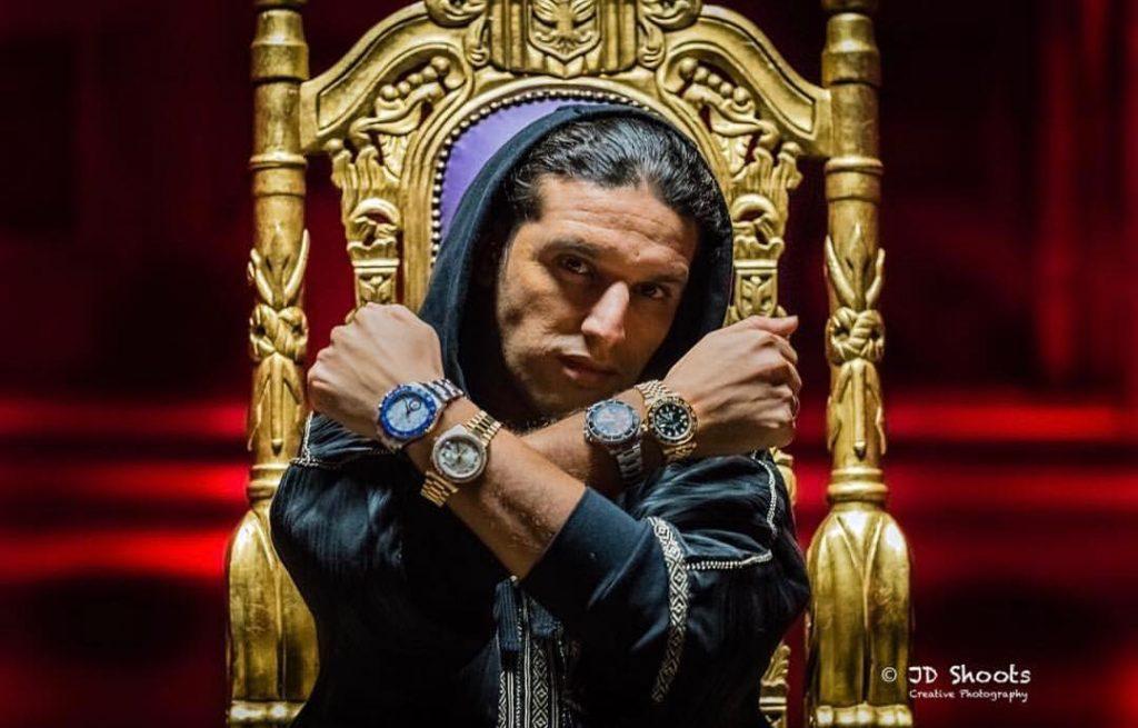 Nederlandse rappers miljonair. Ali B